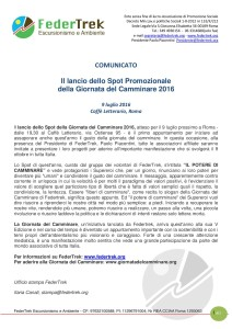 COMUNICATO-LANCIO SPOT FEDERTREK-page-001