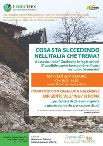 Cosa sta succedendo nell'Italia che trema. www.federtrek.org