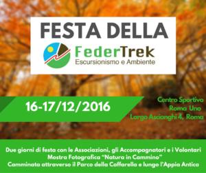 Festa FederTrek 2016