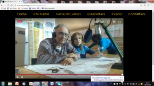 Diretta notturna del Gruppo Volontari Federtrek su Radio Impegno - 4 dicembre 2016