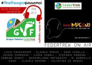 Locandina Radio Impegno-25 marzo 2017